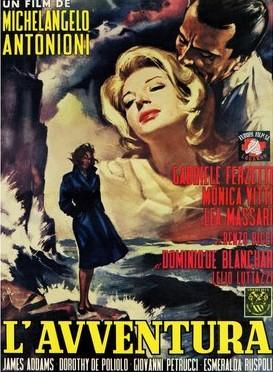 1001 películas que debes ver antes de forear.  Juegos salvajes - John McNaughton - Página 4 Ap325-lavventura-michelangelo-antonioni-italian-movie-poster-19601