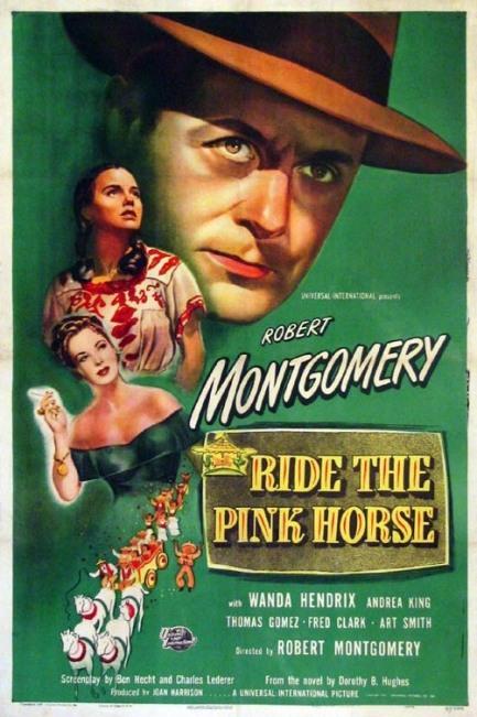 ridethepinkhorseenkm9-poster